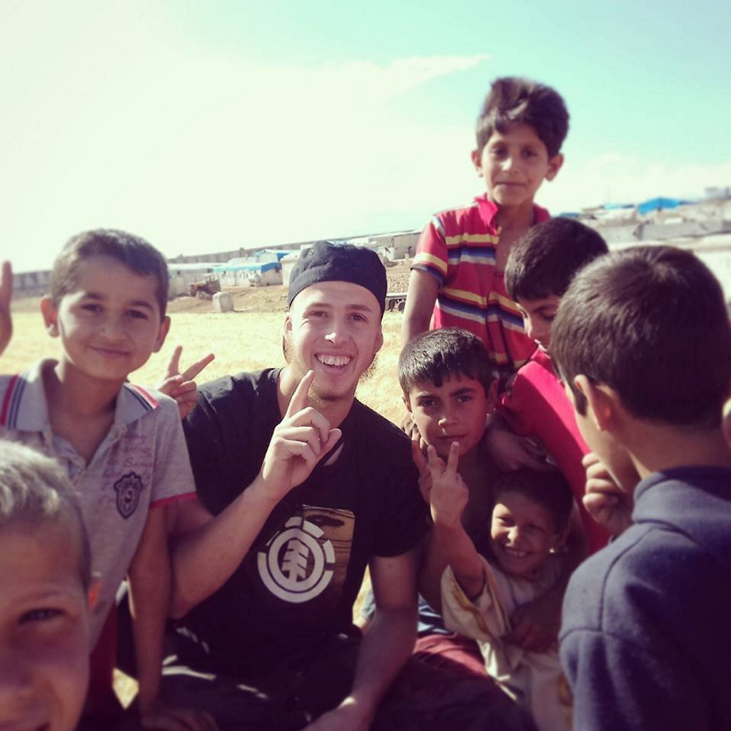 Oliver Bridgeman is now working with a Syrian organisation called Project Hope Syria.
