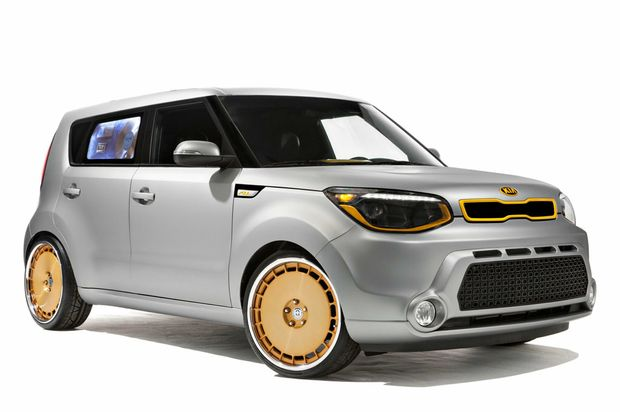 CALIFORNIA SOUL: Americans go mad for modifying Kia Souls.