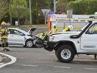 Two-vehicle crash on Toowoomba Range