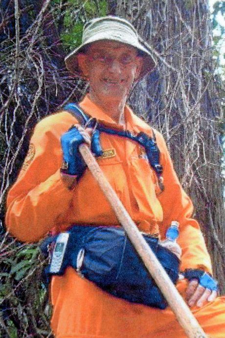 Stu Wools-Cobb, former Maroochydore SES Group Operator.