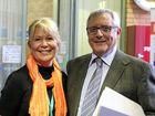 Mayor Denise Knight with new deputy  George Cecato.