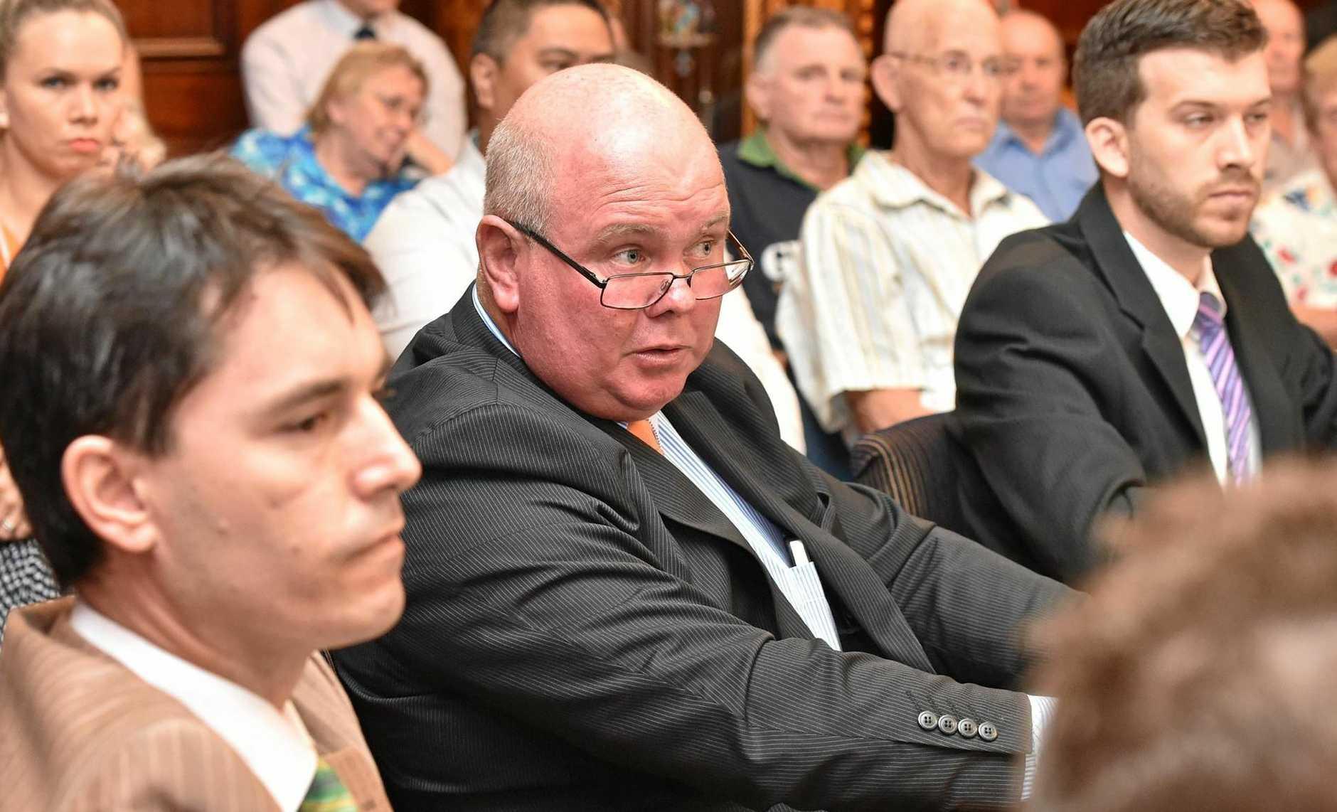 Fraser Coast Regional Council - Cr. Denis Chapman. Photo: Alistair Brightman / Fraser Coast Chronicle