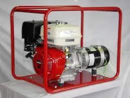 A generator similar to the ones stolen from the Westpac Life Saver Rescue Helicopter base.