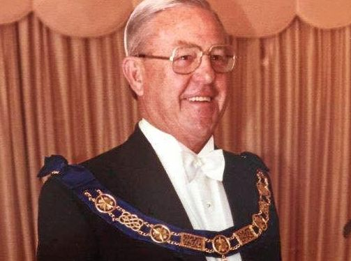 RESPECTED: Sir Walter Burnett was a grand master of the Freemason's Grand Lodge in Queensland.
