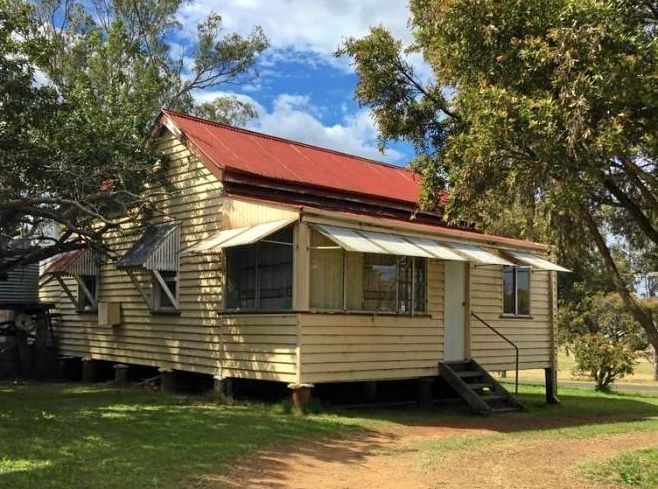 This two-bedroom workers cottage on Appin St in Nanango sold for $77,500.
