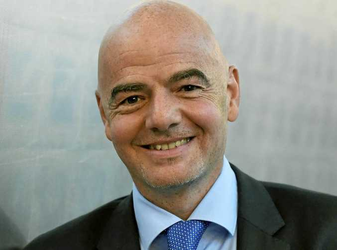 FIFA president Gianni Infantino favours a 48-team World Cup.