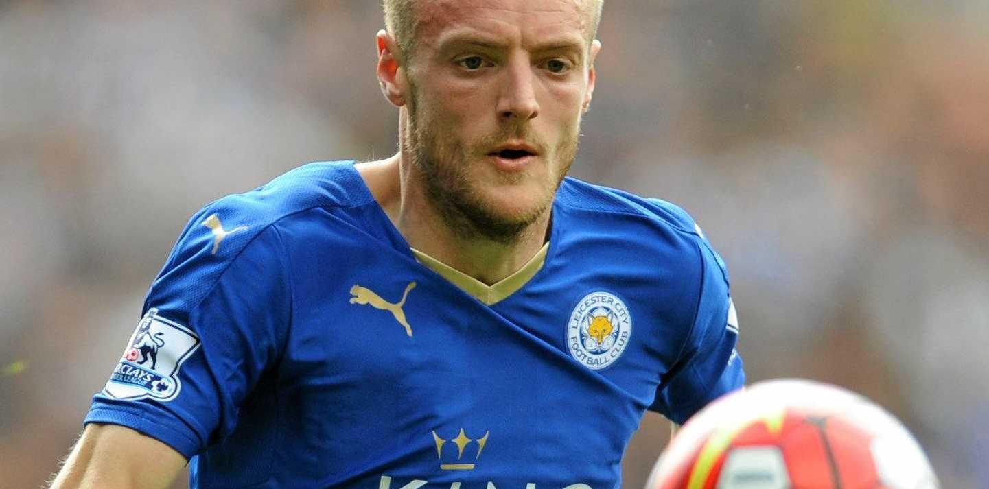 Leicester City striker Jamie Vardy has scored just once this season.