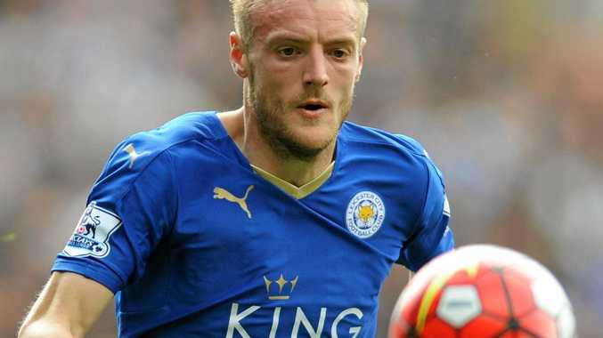 Leicester City striker Jamie Vardy has scored just once this season.