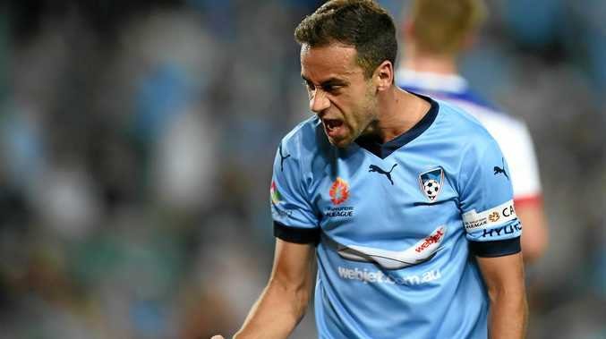 Sydney FC captain Alex Brosque has been made to fight for his place in the team.