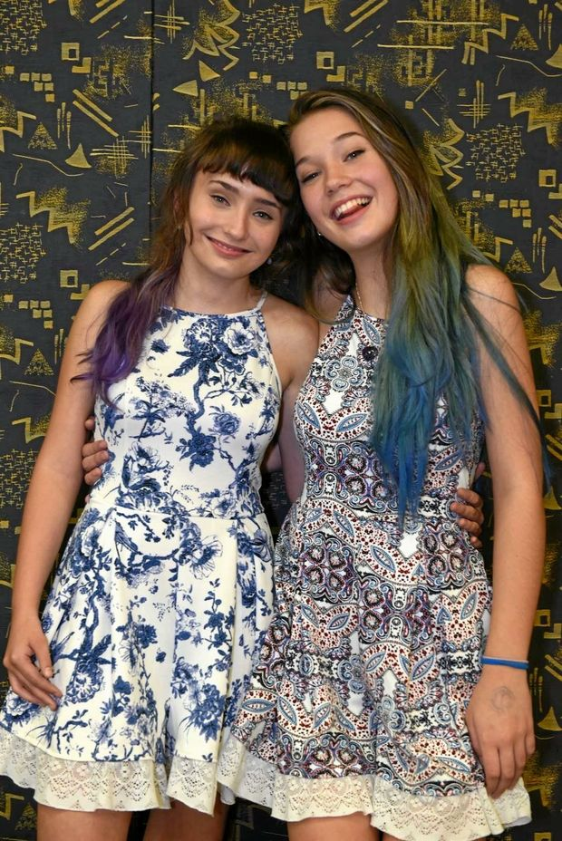 Gympie's adopted songbirds Briannah and Tiana Dennis will be out to impress Iggy Azalea on The X Factor on Monday night.