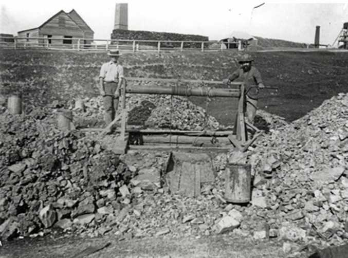 DANGEROUS TIMES: Gympie's early miners faced danger on the job every day. Thomas Savage's death in a Gympie mine on April 18, 1887 was one of numerous tragedies on the goldfield.