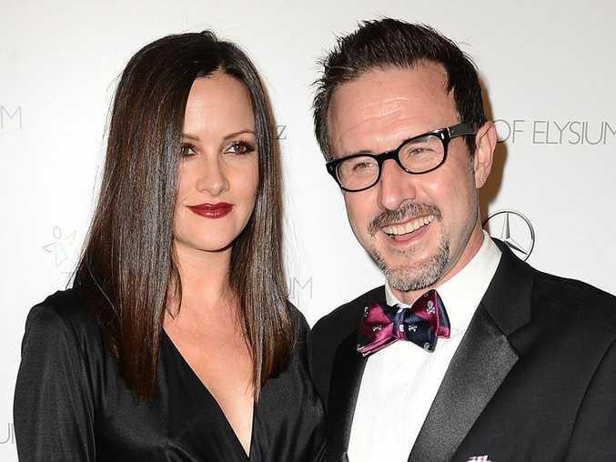 David Arquette and his wife Christina