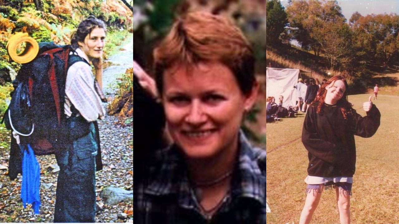 NEVER FOUND: British backpacker Celena Bridge, Sabrina Ann Glassop and school girl Jessica Gaudie.
