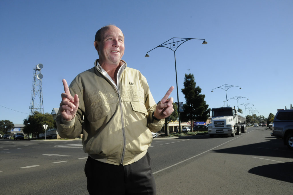 Craig Commens believes Oakey is a great place to live contrary to recent reports.