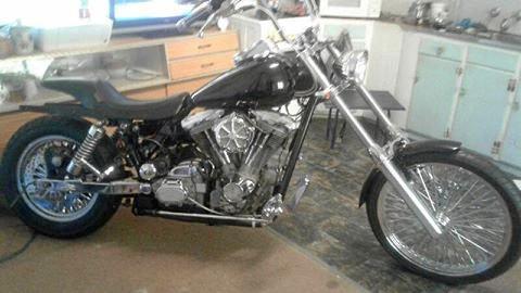 STOLEN: The Harley Davidson stolen from a home at Bowraville after a violent home invasion.