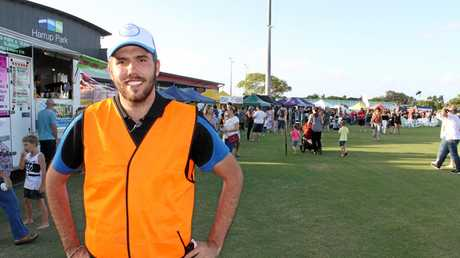 Cody Coulton, operations manager at Harrup Park Country Club and founder of Eat Street, was up at 5am setting up with stallholders and organisers.