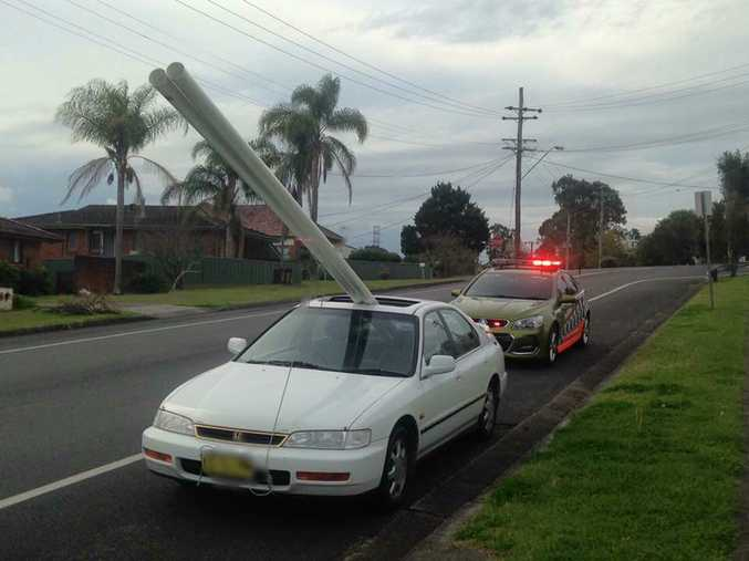 NSW Police Force: We imagine there are a few infringements in the pipeline for this #loadfail.
