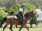 Linda Rogers competes in the QMI Cup Challenge hosted by 11th Light Horse Darling Downs at the Toowoomba Showgrounds, Saturday, October 15, 2016.