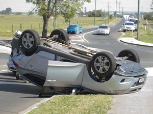 Car rolls in Greenwattle