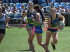 Action from the Australian Junior Oztag Championships played at C.ex Coffs International Stadium. 16 October 2016 Photo: Brad Greenshields/Coffs Coast Advocate APN