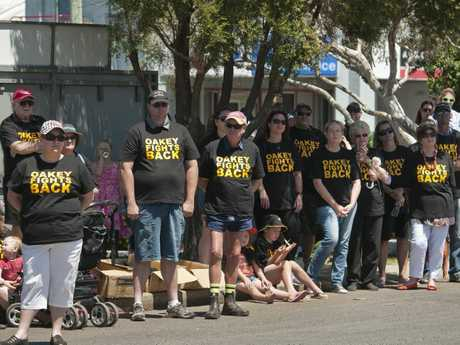 Oakey Fights Back rally to highlight the positive aspects of the town in the face of the ongoing groundwater contamination issue.