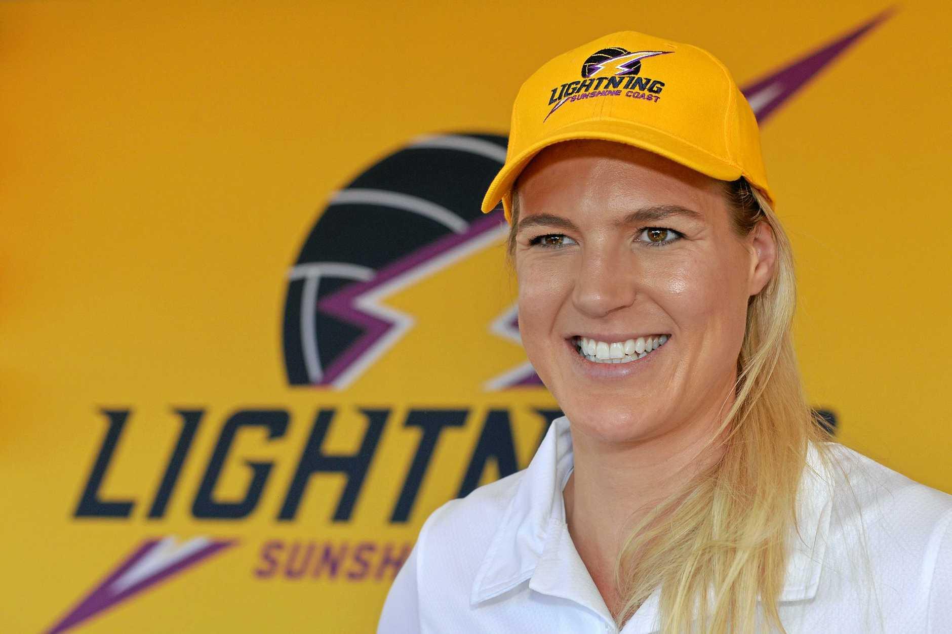 Meet the Coast's new 'diamond studded' netball stars today. Caitlin Bassett.