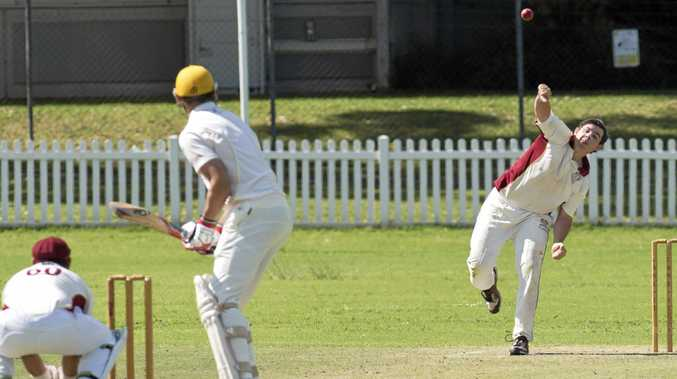IN ACTION: Aiden Watterson rounds off an impressive batting performance for Diggers.