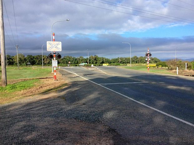 Shute Harbour Road, where it meets the Bruce Highway near the entry to Proserpine (file photo).