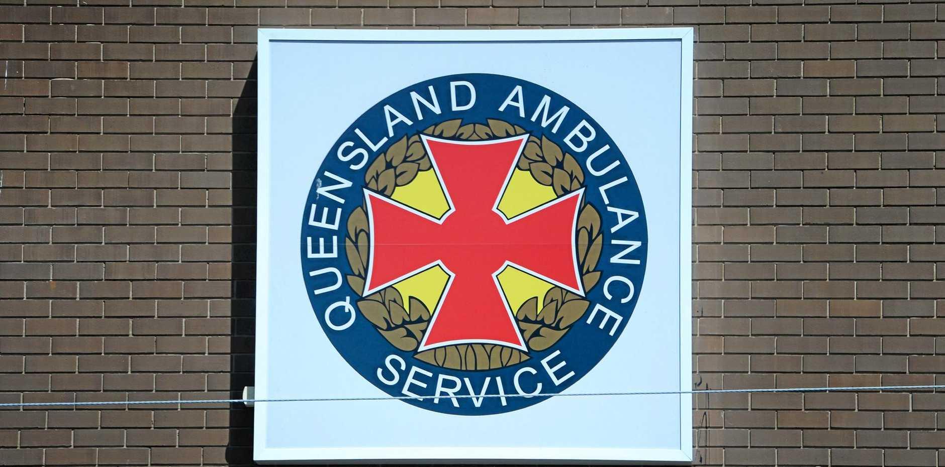 The Queensland Ambulance Service was on scene at Gap Creek Farm.