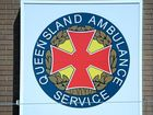 The Queensland Ambulance Service was on scene at Gap Creek Farm.
