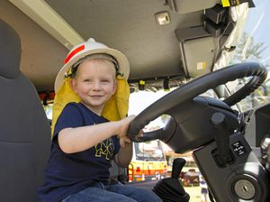 Kids meet Darling Downs' emergency services heroes