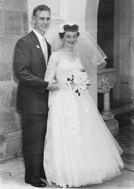 Bill and Shirley Healy of East Ipswich celebrate their 60th wedding anniversary.