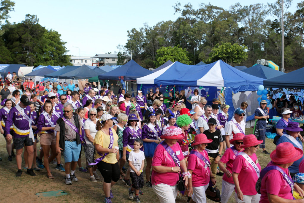 Hervey Bay Relay for Life 2016.