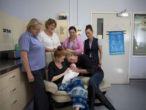 Hospital offers program to help young, first-time mums