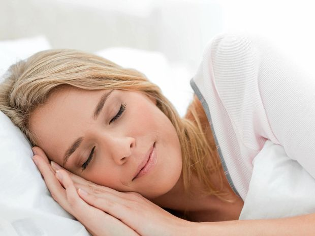 SHUT-EYE: Good health generally starts with a good sleep.