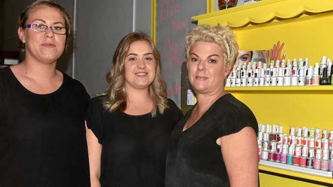 BEAUTY WINNERS: Elizabeth Moye, Sarah Small, owner Melissa Adams and Tracy Scott (not pictured) are the staff at Mellita's Beauty Secrets.