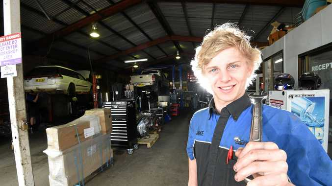 WINNING WAYS: Wollongbar TAFE auto apprentice Jake Hiscock takes out the top prize at a three-day national Worldskills competition.