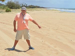 High dunes wrecked by 4WD vandals