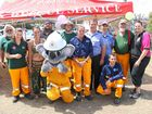 A blazing rural fire open day