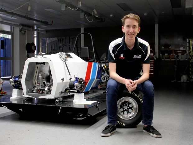 DREAM JOB: Former Alstonville High student Jaden Partridge will compete to land a job with a Formula 1 team.