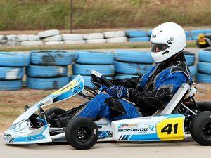 Racers battle for go-kart gold