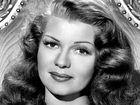 Legendary Hollywood actress Rita Hayworth.