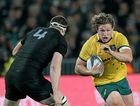 READY FOR ALL BLACKS: Australia's Michael Hooper could return for Bledisloe Test this weekend.