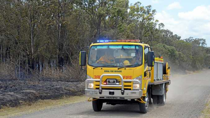 FIRE: Emergency services are fighting a vegetation fire at Kinkuna.