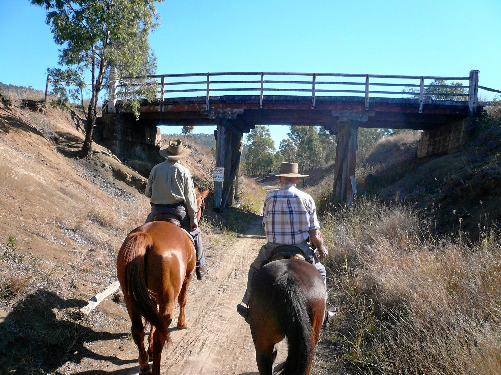 NOT HAPPY: Mayor Graeme Lehmann says other councils are enjoying the benefits of the Brisbane Valley Rail Trail, while Somerset is suffering. He is asking the State Government to prioritise the costly completion of the trail.