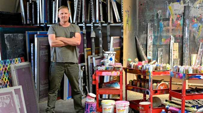 BIG DEAL: Toowoomba visual artist Shane Bowden signed an estimated $20 million deal with New York Gallery Group to exhibit in Japan and Singapore.