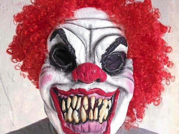 WARNED: Clown activists have been spotted in the Whitsundays