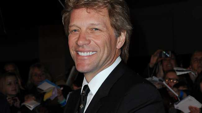 Jon Bon Jovi thanks his wife Dorothea for helping him to beat his demons.