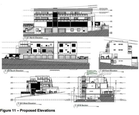 UP IT GOES: Council was left with no choice but to approve another unit complex, despite high vacancy rates.