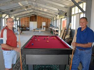 Men's Shed to open soon